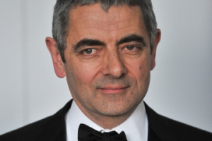 British actor Rowan Atkinson arrives in